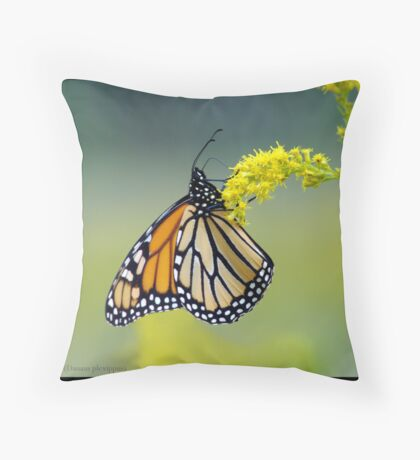 Monarch... Throw Pillow