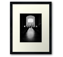 The West Screen - Coventry Cathedral Framed Print