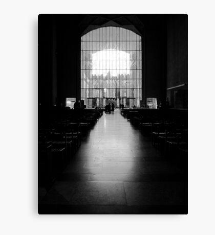 The West Screen - Coventry Cathedral Canvas Print
