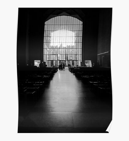 The West Screen - Coventry Cathedral Poster