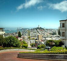 Lombard Street by Thomas Plessis