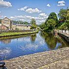 The Rochdale Canal by Philip Kearney