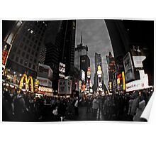NYC Times Square Poster