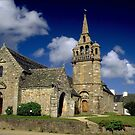 The church in Guimaec by jean-jean