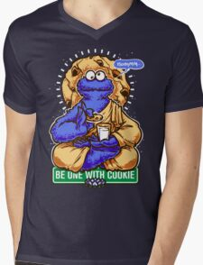 One With Cookie Mens V-Neck T-Shirt