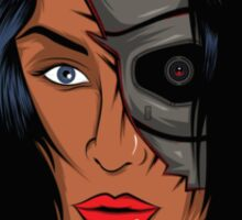 """Cyborg """"The 9 faces series"""" Sticker"""
