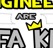 Mechanical Engineers Are Sofa King Cool Sticker