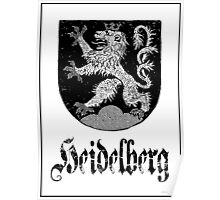 The 3-Tailed Lion of Heidelberg Poster