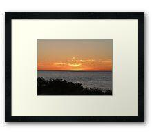 Monkey Mia Western Australia Sunrise #2 Framed Print