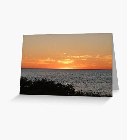 Monkey Mia Western Australia Sunrise #2 Greeting Card