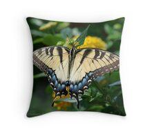 Eastern Tiger Swallowtail... Throw Pillow