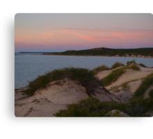 Monkey Mia Western Australia, Sunrise over the Dunes Canvas Print
