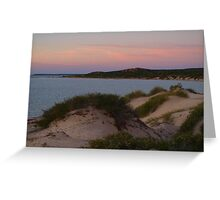 Monkey Mia Western Australia, Sunrise over the Dunes Greeting Card