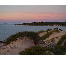 Monkey Mia Western Australia, Sunrise over the Dunes Photographic Print