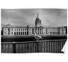 The Custom House, Dublin Poster