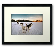 Grand Nord Framed Print