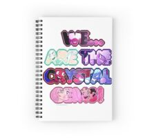 Crystal Gems Spiral Notebook