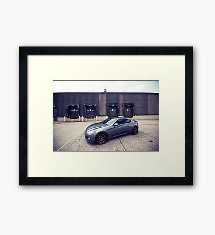 Hyundai Genesis Coupe 2.0T Framed Print