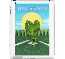 Field of Greens iPad Case/Skin