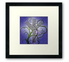 Algiz Rune from the Elder Futhark Framed Print