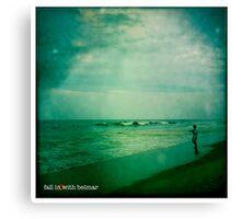 beach camera Canvas Print