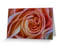 Peach Perfection Greeting Card