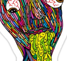 Nicotine Color Sticker