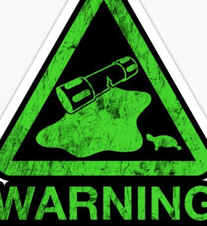 Sticker! The Danger of the Ooze Sticker