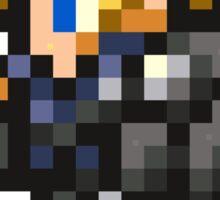 Lone Wolf Cloud sprite - FFRK - Final Fantasy VII (FF7) - Advent Children Sticker