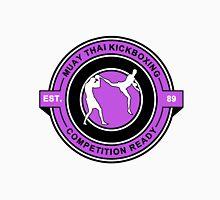 Muay Thai Kickboxing Competition Ready Purple  Unisex T-Shirt