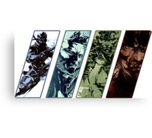 Metal Gear Solid Evolution Canvas Print