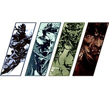 Metal Gear Solid Evolution Photographic Print