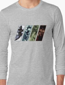 Metal Gear Solid Evolution Long Sleeve T-Shirt