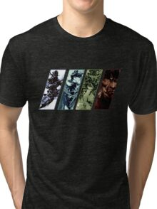 Metal Gear Solid Evolution Tri-blend T-Shirt