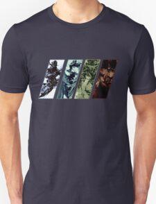 Metal Gear Solid Evolution Unisex T-Shirt