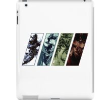 Metal Gear Solid Evolution iPad Case/Skin