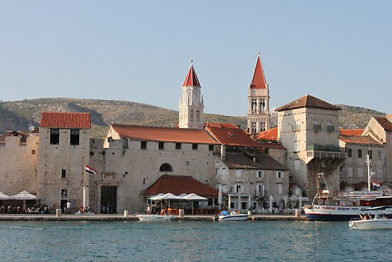 Trogir waterfront by Elena Skvortsova