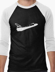 Nasa Space Shuttle in white Men's Baseball ¾ T-Shirt