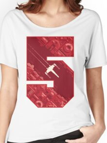 Red Five Women's Relaxed Fit T-Shirt