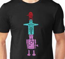 Robot Totem - Color Invert Unisex T-Shirt