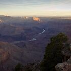 The Grand Canyon, sunrise by Philip Kearney