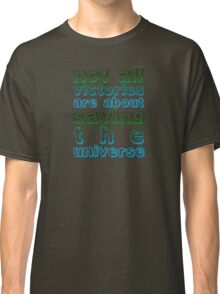 Doctor Who Rory Quote: Victories Classic T-Shirt