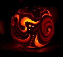 Carved Pumpkin by Wealie