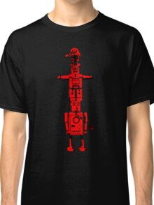 Robot Totem - BiLevel Red Classic T-Shirt