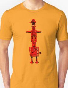 Robot Totem - BiLevel Red T-Shirt