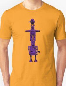 Robot Totem - BiLevel Purple T-Shirt
