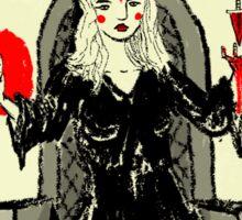 Tarot: The High Priestess Sticker