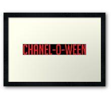 Chalen-O-Ween ( Scream Queens) Framed Print