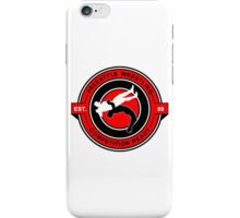 Freestyle Wrestling Competition Ready Suplex Red  iPhone Case/Skin