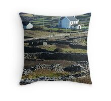 Walls of Aran Throw Pillow